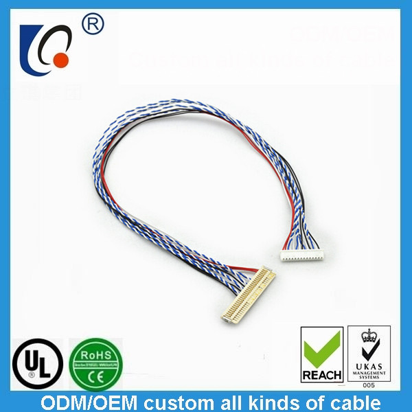 Supply all kinds of connector wiring harness, wire rod, casing connections cable