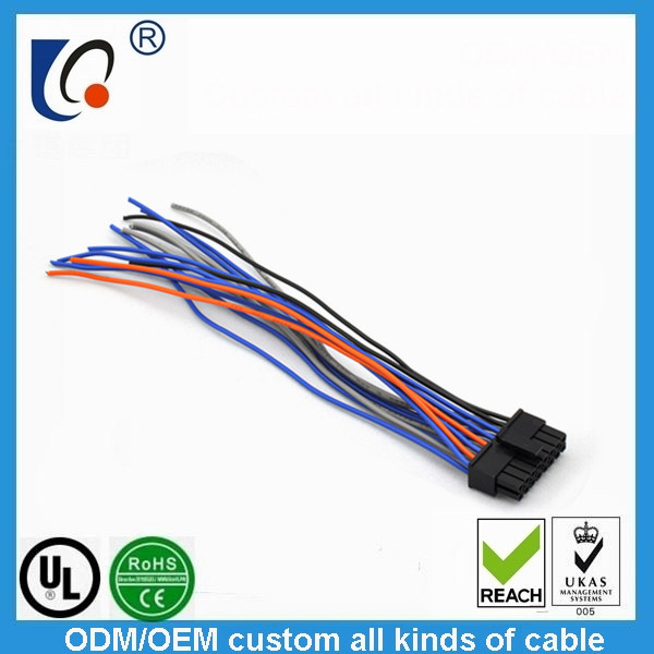 Supply wire harness connector product line