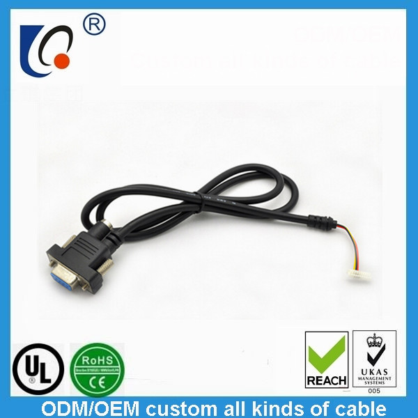 Factory for an LVDS panel straight line terminal harness FuXian light