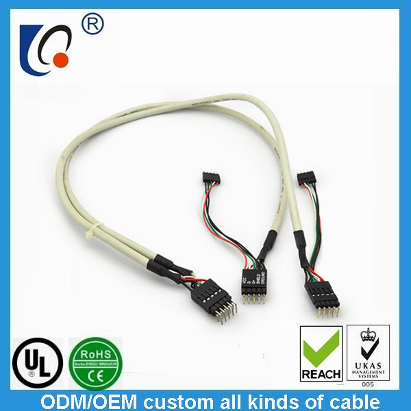 Mechanical and electrical wiring harness