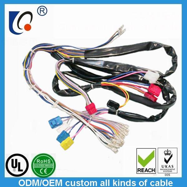 custom car navigation wiring harness