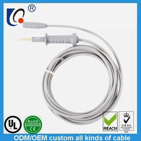 Unipolar electric coagulation cable