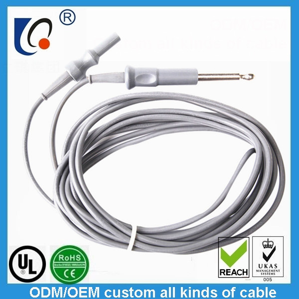 Unipolar power connecting line general medical electrotome connecting cable medical equipment manufacturers selling