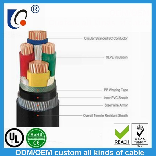 Supply high quality bare wire UL2464 American standard signal cable